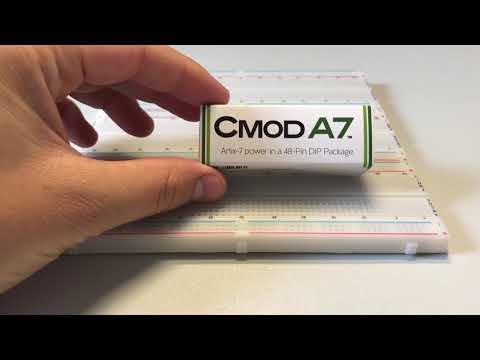 DIGILENT CMOD A7 unboxing