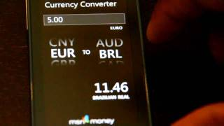 This is a walkthrough of the MSN Money app for the Zune HD. In the video you see the app comes preloaded with four stocks.