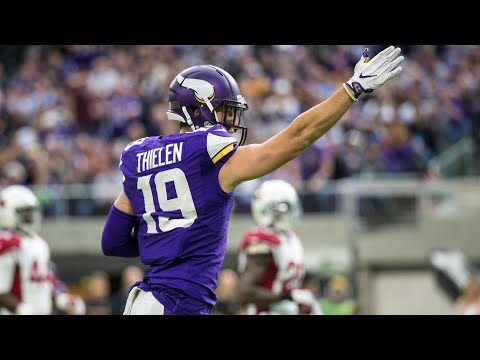 Video: Vikings' Adam Thielen taking it one day at a time with success