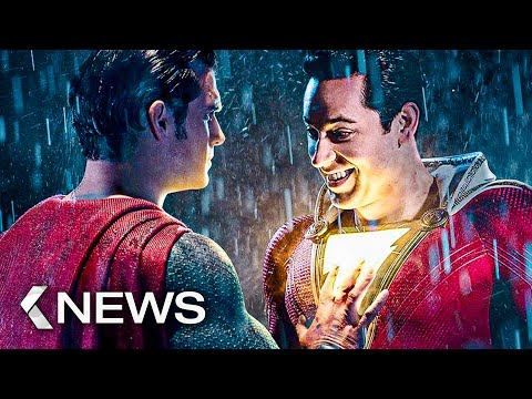 Shazam 2, Aquaman 2, The Flash, The Lord of The Rings Series, Cats... KinoCheck News
