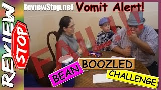 Bean Boozled Challenge Vomit Alert / Nasty Jelly Beans / #OMG / Review Stop