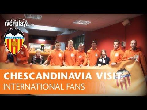 Chescandinavia Valencianistas visit their Club: Valencia CF