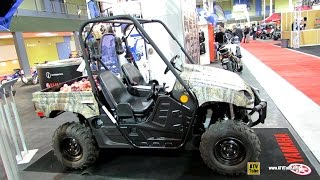 8. 2013 Yamaha Rhino 700FI Camo AP HD Utility Vehicle - Exterior and Interior Walkaround
