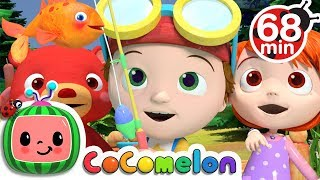 Video 12345 Once I Caught a Fish Alive | +More Nursery Rhymes & Kids Songs - CoCoMelon MP3, 3GP, MP4, WEBM, AVI, FLV Januari 2019