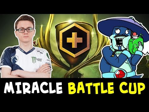 MIracle FIRST time in Dota PLUS Battle Cup