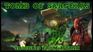 We've had a few weeks now of Tomb of Sargeras being live. After analyzing logs and wiping a ton to all of these bosses I have some thoughts about this raid. It's very enjoyable!Tomb of Sargeras LFR/Normal Playlist - https://www.youtube.com/watch?v=IHS7IgPFJNs&list=PLLmt-KD53riqZAT3rWvlX8PYCaQGVZcLMHelp Support the Channel directly! -http://www.patreon.com/befuddled_gamingHelp support the show by doing your Amazon shopping with our link! : http://amzn.to/2mYphhFTry Amazon Prime For Free for 30 days! : http://amzn.to/2mUEGz5Feel free to leave a comment down below letting me know what you think and if you have any additional ideas / insight on warrior tanks!If you like these guides let me know with a thumbs up and a subscription!Twitter: https://twitter.com/befudd_algernon