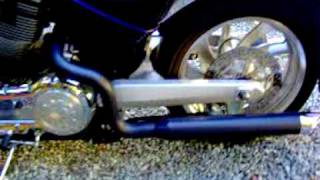 6. Hacker Custom Exhaust