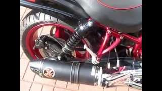 3. Hyosung GV 650 AE - modifications