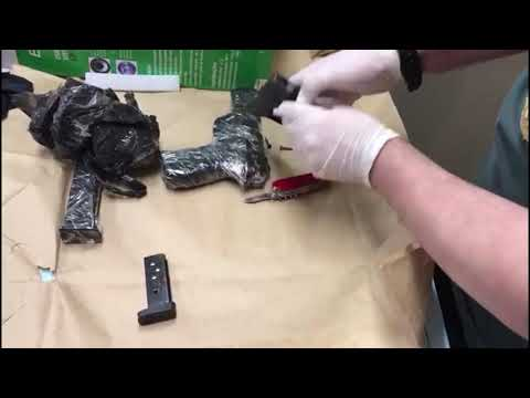 Polícia Federal faz operação contra tráfico de armas em oito estados