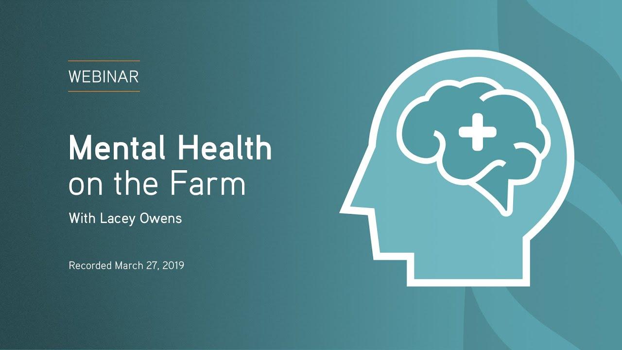 Mental Health in Farming