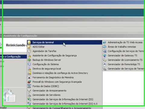 tutorial sobre licenciamento do Terminal Services no Windows Server 2008 area de trabalho remota