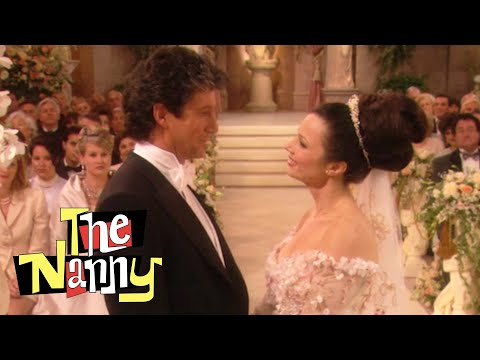 Fran And Maxwell Get Married! | The Nanny