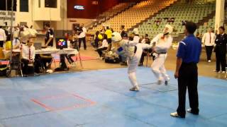 Samantha Leidel From Florida Taekwondo College at USAT Florida State Championships 2011  Rd1