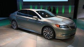 NY Auto Show: 2013 Acura RLX