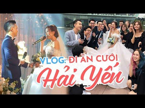Vlog : Cả Schannel kéo nhau đi ăn cưới Hải Yến ! - Thời lượng: 10:51.