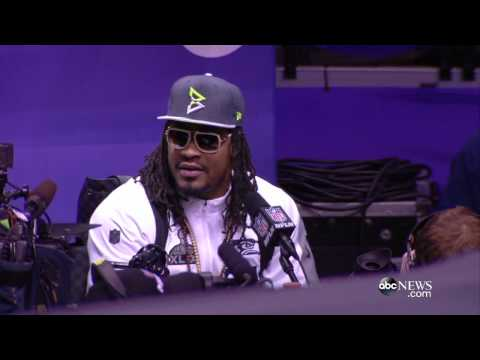 I'm - The Seattle Seahawks running back had one thing on his mind while talking to reporters.