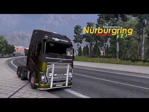 [ETS2 1.15.1s] Nurburgring Map v2.1