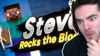 Did You Know Steve Is In Smash