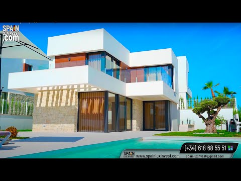 760000€/Элитная вилла в Сиерра Кортине с видом на море/Виллы в Испании/Дом в Бенидорме/Хай Тек/Люкс
