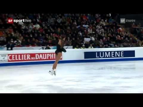 europameisterschaft - 2. Teil (Wertung) siehe http://www.youtube.com/watch?v=vBjcHffUo-c. Sarah Meiers perfekte Kür zum goldenen Abschluss ihrer Karriere an der ISU-Europameisters...