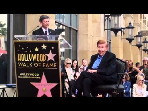 Sumner Redstone Walk of Fame Ceremony