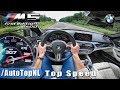 BMW M5 F90 | 307km/h | AUTOBAHN POV TOP SPEED by AutoTopNL