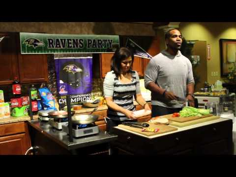 Jen Heasley's Cooking With The Pros With Marques Ogden...tacos At Wegmans