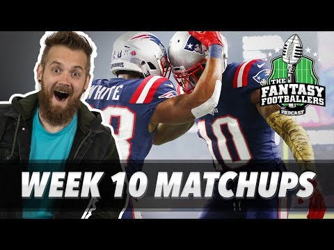 Fantasy Football 2018 - Week 10 Matchups, In-or-Out, Capes & Shadows - Ep. #647