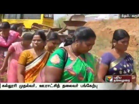 Puthiya-Thalaimurais-Nammal-Mudiyum-team-clears-seemai-karuvel-trees-in-Karur