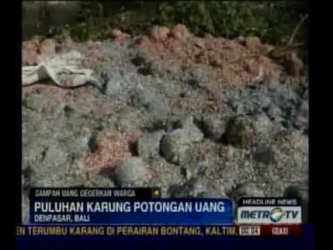 Heboh Sampah Uang di Bali
