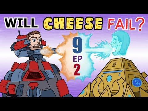 Will Cheese Fail Season 9 Episode 2 — Starcraft 2 [LAGTV]