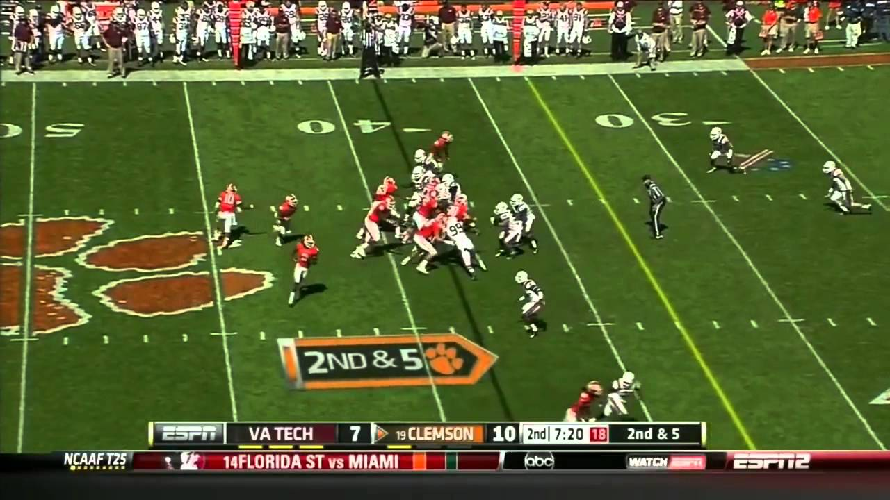 Andre Ellington vs Virginia Tech (2012)