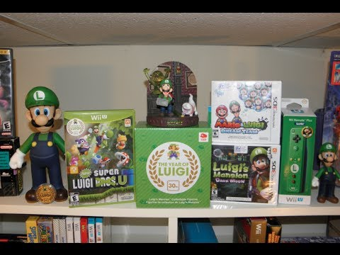 The End Of The Year Of Luigi - Figurine Unboxing Included