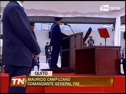 Fuerza aérea ecuatoriana conmemora su centenario