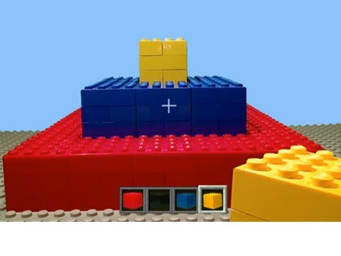Let's Play LEGO Minecraft ANIMATION