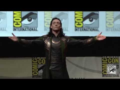 loki - Tom Hiddleston surprised fans with an appearance in character as the master of mischief, Loki himself, during Marvel Studios' Hall H presentation at San Dieg...