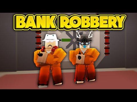 ROBBING THE BANK! (ROBLOX Jailbreak) (видео)