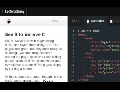 Codecademy jQuery 2013- Manipulating HTML