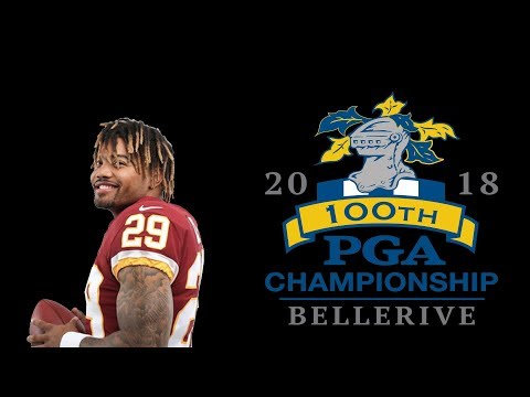 Derrius Guice has Torn ACL and PGA Championship --- News and Updates 08/10/18