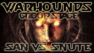 [Ep#3] WarHounds - San vs Snute - Map 1