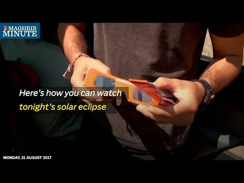 Though today's total solar eclipse will not be visible to Omani residents, you can still watch it.
