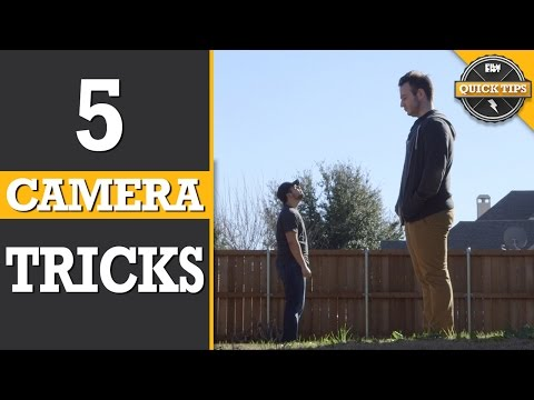 Camera - Today, we show 5 easy but awesome camera tricks! Like, Favorite and SHARE today's episode! http://youtu.be/I-rGQVFyjTs Subscribe for more Film Riot! http://www.youtube.com/subscription_ce...