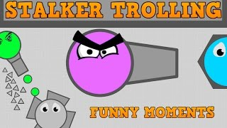 DIEP.IO STALKER TROLLING AND FUNNY MOMENTS!! // Ranger VS Fall...