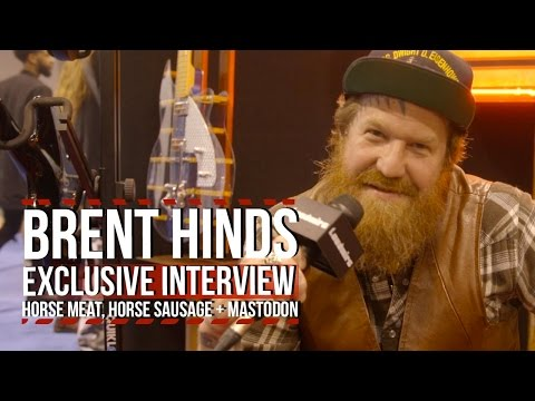 Mastodon's Brent Hinds is Gonna Eat Horse Meat + Burn His Studio Down