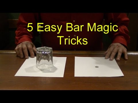 5 Easy Bar Magic Tricks Epic Cool Simple Magic Trick