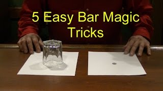 Video 5 Easy Bar Magic Tricks Epic Cool Simple Magic Trick MP3, 3GP, MP4, WEBM, AVI, FLV Agustus 2019