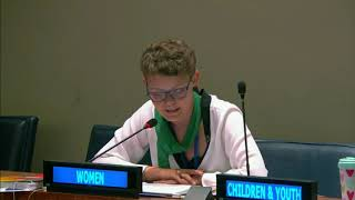 Marinella's Intervention at HLPF 2019: http://webtv.un.org