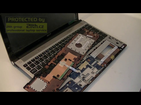 How To Replace Or Remove Keyboard, Fan, Hdd, Dvdrw And Other On Acer 5830tg Aspire Timeline