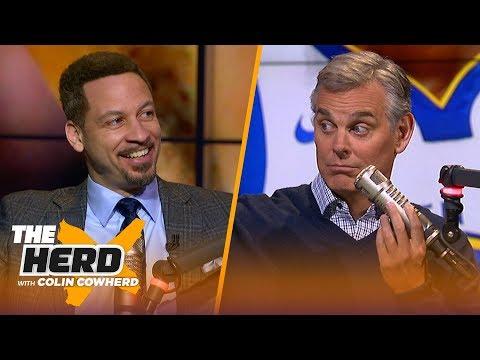 Chris Broussard on players poll ranking LeBron-Kobe close, talks AD & Steph Curry | NBA | HERD
