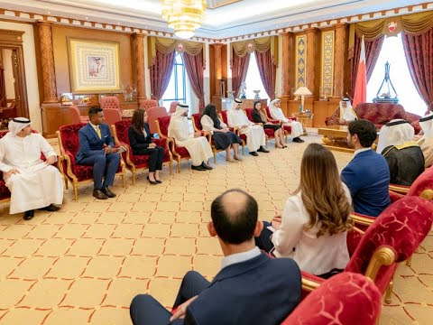 HRH Crown Prince meets fourth intake of the FDPM Fellowship